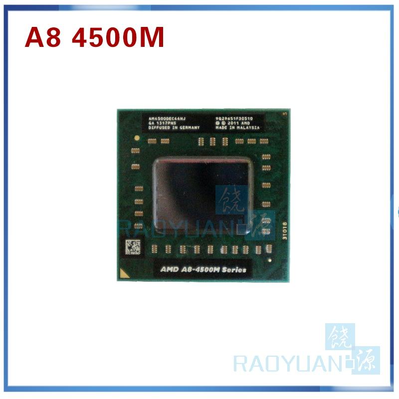 AMD  A8-Series A8 4500M AM4500DEC44HJ Laptop CPU 1.9G Socket FS1 Quad Core A8-4500M Sell A8 3520M