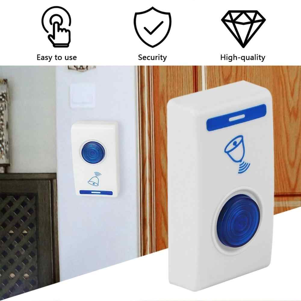 LED Wireless Chime Door Bell Doorbell /& Wireles Remote control 32 Tune Songs UK