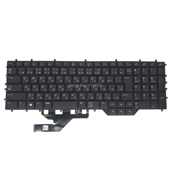 Original JP JPN Japanese keyboard for Dell Alienware M17 R2 2019 Gaming 0JRFM9 JRFM9 black backlit colorful no frame brand new