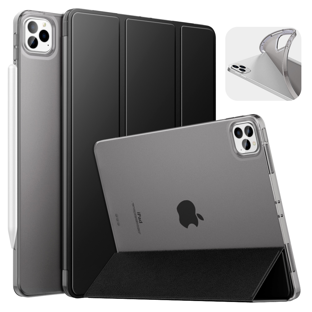 Black Black Case For iPad Pro 11 2020 2nd Generation Support Apple Pencil 2 Charging Case with Stand