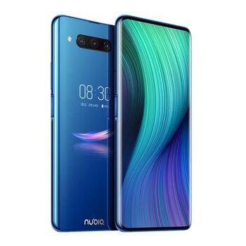 Купить Мобильный телефон ZTE Nubia Z20 LTE, 8 Гб ОЗУ 128 Гб ПЗУ, экран 6,42 дюйма, Snapdragon 855 +, двойной экран, Android 9,0, тройная тыловая камера, версия США