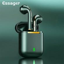 Essager j18 tws bluetooth fones de ouvido estéreo verdadeiro sem fio fones de ouvido em fones handsfree para o telefone móvel
