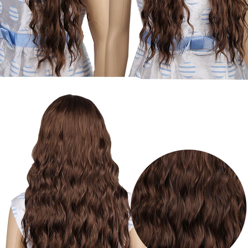 Amir onda longa brown perucas sintéticas para