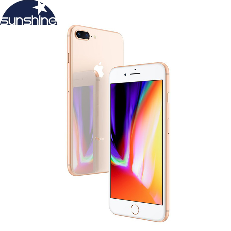 Original Unlocked Apple iPhone 8 Plus 3GB 64GB Cell phones Used Mobile phone 3GB RAM 64/256GB ROM 5.5' 12.0 MP iOS Hexa-core image