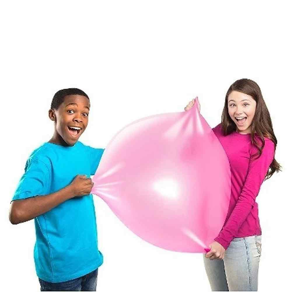 เด็กลูกฟองนุ่ม Squishys Air Water Filled บอลลูน Blow Up เด็กฤดูร้อนกลางแจ้งเกม bath ของเล่นบอลลูน