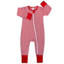 Long Sleeve Newborn Baby Boys Spring Baby Cotton Rompers Girls Romper Infant Striped Zipper Jumpsuit for Kids New Born Clothes spring autumn baby rompers hooded baby boys clothes newborn cotton clothes streetwear long sleeve infant boys girls jumpsuit