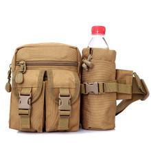 Wodoodporny Nylon mężczyźni piterek taktyczne wojskowe armii talii torba turystyka odkryty Camping ramię Bum Belt Bum Sport torba na klatkę piersiową tanie tanio LAIMALA Wielofunkcyjny 3-warstwowa 791078 Shoulder bag Waist pack Chest bag