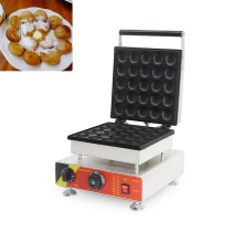 SUCREXU Commercial 25PCS Electric Dutch Poffertjes Mini Pancake Maker Machine Baker Nonstick 110V 220V CE free shipping by fedex electric 110v 220v 6 hole dount making machine cookie maker