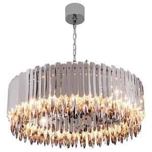 Image 2 - Kristal avize krom dekoratif avize restoran otel lambası oturma odası için