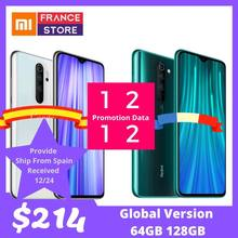 "Global Vervsion Xiaomi Redmi Note 8 Pro 6GB 64GB Celluar Smartphone Helio G90T Octa Core 6.53"" 64MP 4500mAh NFC Mobile Phone Android(Hong Kong,China)"