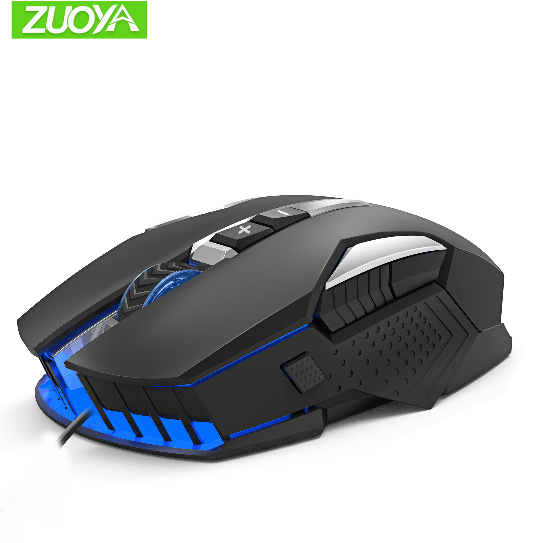 ZUOYA Gaming Mouse USB Wired Optica Micel LED Backlit Game Mause For PC Laptop Pro Gamer