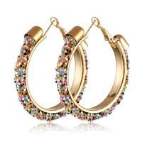 Boucles d'oreilles en alliage d'or pour femmes bohème géométrique Sexy grandes boucles d'oreilles 2019 Style coréen boucles d'oreilles bijoux cadeaux