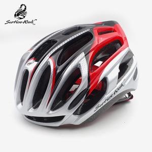 Image 1 - Casco da bicicletta ultraleggero In Mold per uomo donna road mtb caschi da mountain bike aero Casco da Ciclismo equipaggiamento Casco Ciclismo M \ L