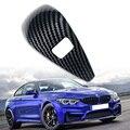 Für BMW 3 Serie G20 2019 2020 ABS Carbon Fiber Innen Schaltknauf Abdeckung Trim Griff Hülse Tasten Abdeckung aufkleber-in Kfz Innenraum Aufkleber aus Kraftfahrzeuge und Motorräder bei