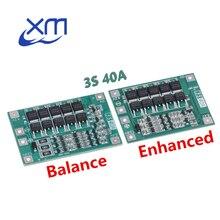 10 PCS 3S 40A Li Ion Caricatore di Batteria Al Litio Protezione Bordo Bordo di Protezione PCB BMS Per 40A Corrente Motore del Trapano 11.1V 12.6V Lipo Cellulare Modulo
