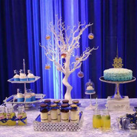 Dessert Table Dining Table Props Home Decoration Christmas Tree Ramadan Crystal Tree Wedding Decoration Accessories