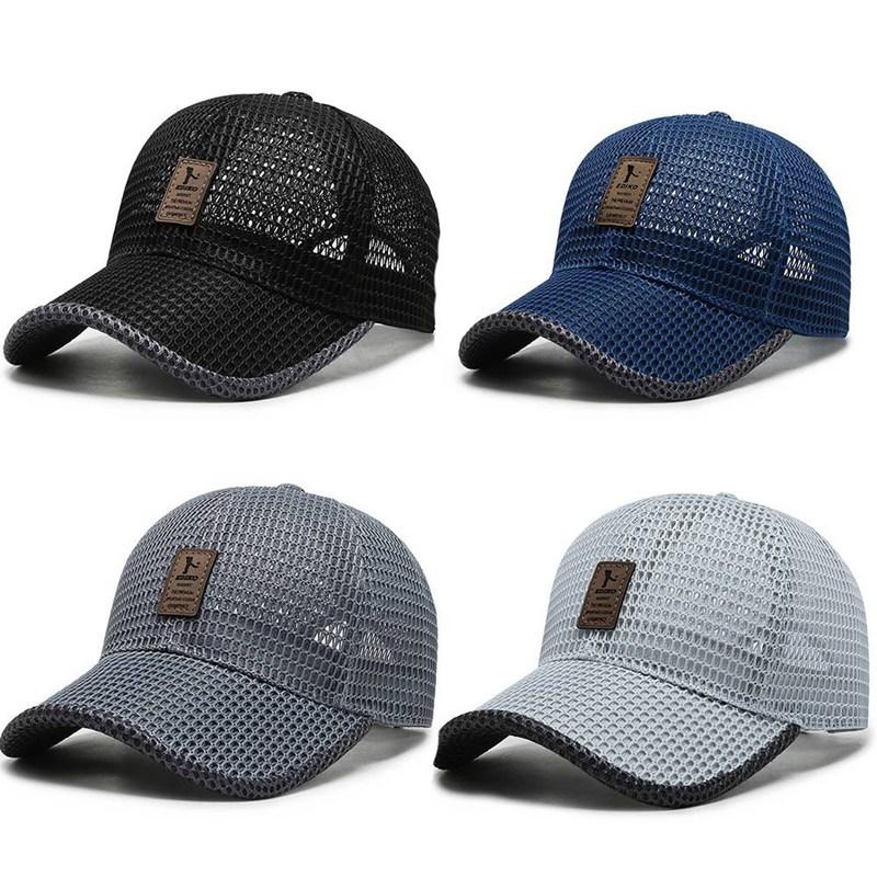 Summer Breathable Mesh Baseball Cap Riding Fishing Visors Tennis Golf Caps Women Men UV Protection Fashion Panama Sport Hat