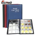 Альбом для коллекционирования монет, 20-120 карманов, органайзер для коллекционирования монет, мини-Пенни, сумка для хранения монет, подарки