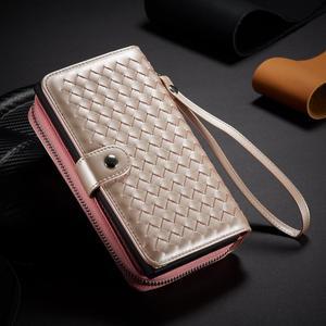 Image 2 - Zipper Wallet Case for Samsung Galaxy Note 10 Plus S10 S9 S8 Plus S10E Note 9 8 Leather Protective Magnetic Detachable Flip Case