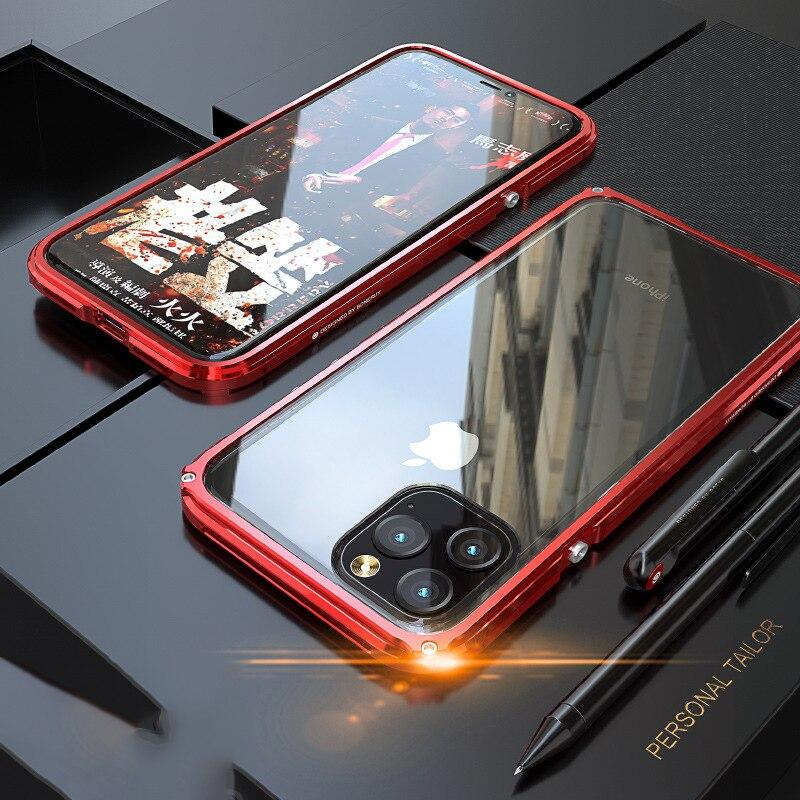 iphone11 Pro Max アルミバンパー タフケース