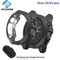 Schutzhülle für Garmin fenix 5x plus uhr zubehör mit staubdicht fall für fenix 5X anti schock shell