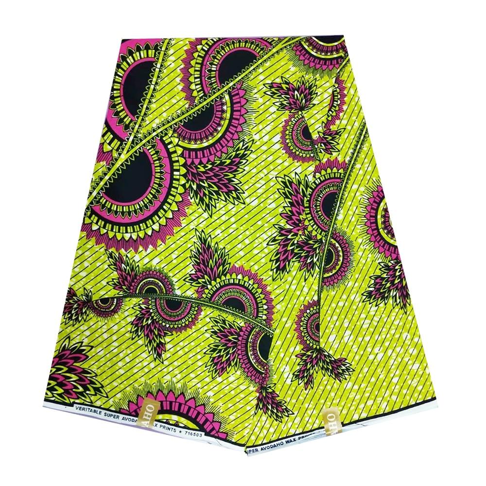 African Tissu Wax Patchwork Material Ghana Ankara Nigerian Real Wax Fabrics 2019 100% Cotton High Quality Pange Wax Nederlands