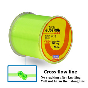 Lures 500 M Nylon Thread Multi-color Fishing Line Sea Fishing Rod Lures Rocky Fishing Line Parallel Roll up Stand Fishing Line