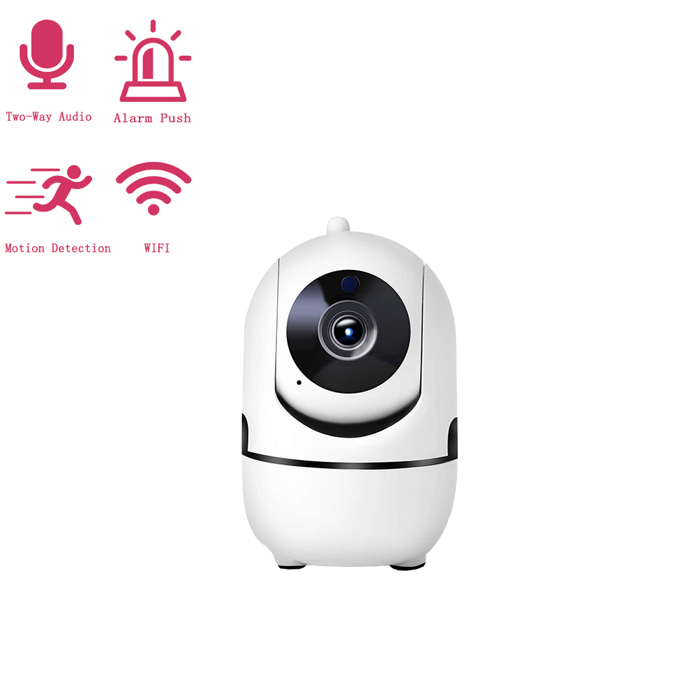 Jiansu indoor ip camera with sound and auto tracking mini wifi security camera Baby Monitor Pet care night vision ycc365plus