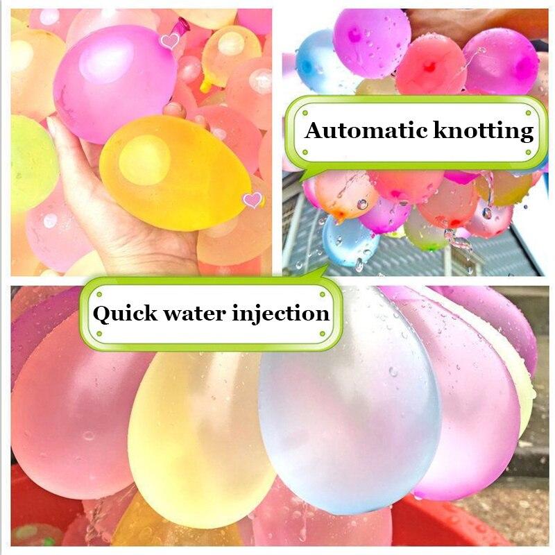 1110Pcs Wasser Luftballons für Kinder Jungen Luftballons Set Party Spiel Schnell Füllen Ballon 1110 Bunches für Sommer Spielzeug Im Freien strand Spielzeug