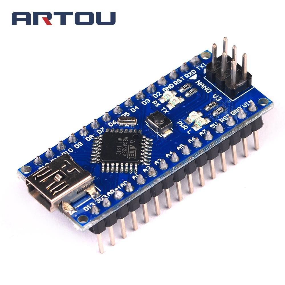 Nano Mini USB With The Bootloader Compatible Nano 3.0 Controller CH340 USB Driver 16Mhz Nano V3.0 ATMEGA328P/168P For Arduino