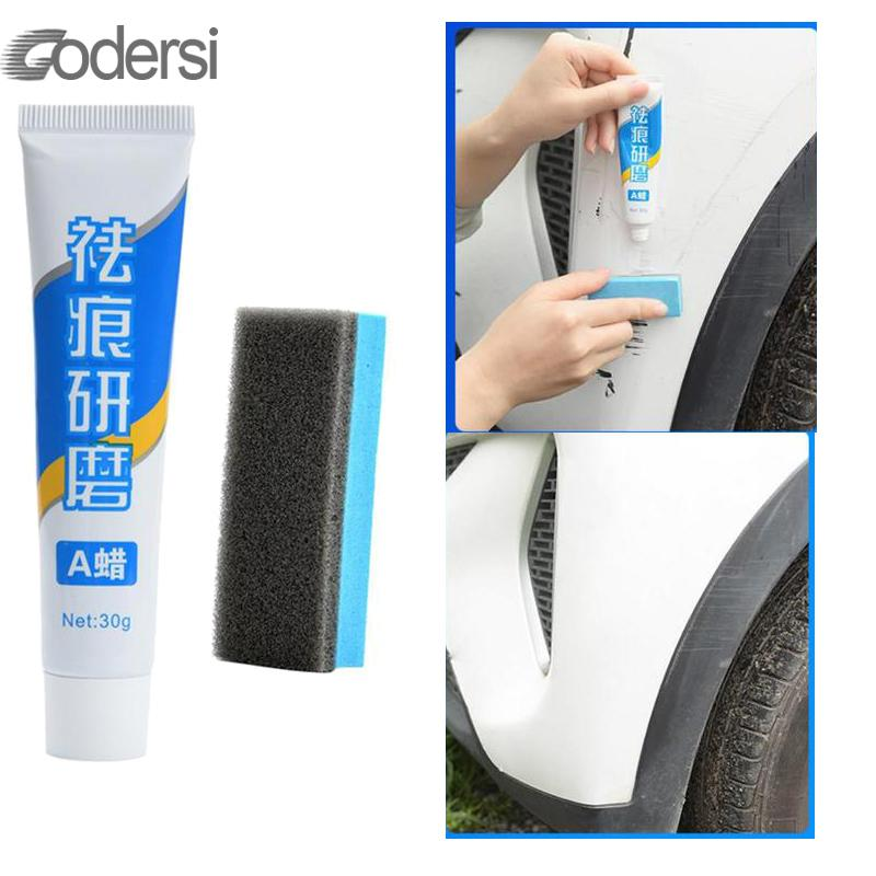 Car Styling Fix It Car Body Grinding Compound Paste Set Scratch Paint Care Auto Polishing Car Paste Polish Car Cleaning 15g/30g