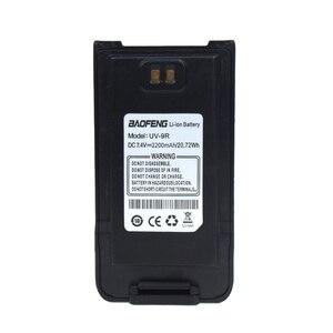 Image 2 - Baofeng UV 9R بطارية جهاز الاتصال اللاسلكي 7.4 فولت 2200 مللي أمبير بطارية ليثيوم أيون حزمة ل Baofeng UV 9R UV 9R زائد راديو