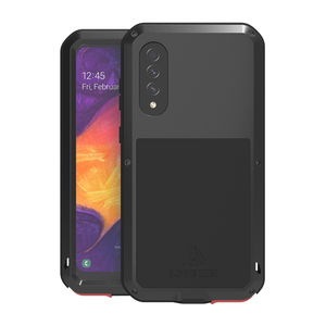 Image 5 - For Samsung Galaxy A50 Luxury Doom Waterproof Armor Duty Shockproof Metal Aluminum Phone Cover Cases For Samsung Galaxy S50