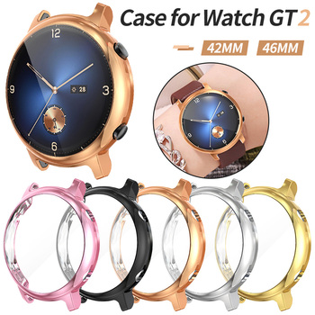 For Huawei Watch GT 2 42mm 46mm 2e Case TPU Screen Protector Cover for GT2 Pro Scratch-resistant Shell Bumper Accessories - discount item  30% OFF Watches Accessories