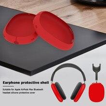 Oreillettes en Silicone pour AirPods Max, accessoires de divertissement portables, couvre-oreilles de protection anti-rayures