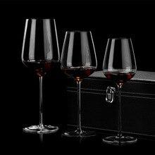 Напрямую от производителя продажи отлиты с украшением в виде кристаллов красное вино Стекло большой Размеры бургундское вино, бокал бытовой Top GRAD