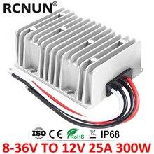 Convertisseur dalimentation électrique pour voiture 8 36V vers 12 V, 15a 20a 25a DC 13.8 V vers 12 V, stabilisateur de tension, CE RoHS