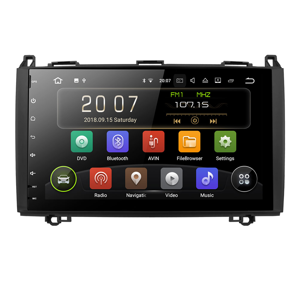 Car DVD Touch Screen Car Radio Two Din Bluetooth Car Multimedia Player Stereo For Mercedes Benz Sprinter Viano B class B200 B180 in Car Multimedia Player from Automobiles Motorcycles