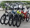 WolFAce 20 Inch 6 Speed Bike Foldable And Portable Bicycle Adult Bicycle Light Travel Mountain Bike 2021 New 4