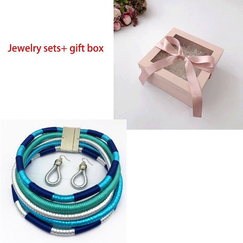 sky blue set and box