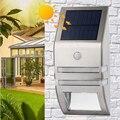 Уличный водонепроницаемый настенный светильник на солнечной батарее с датчиком движения PIR  современный настенный светильник  яркий инфра...