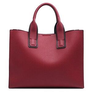 Image 2 - MIYACO Women Bag Leather Handbag Designer Tote Bags Female Elegant Crossbody Bags Ladies Hand Bags with Tassel&Furry ball
