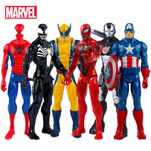 Marvel Avengers Action Figure Spiderman Hulk Thor Iron Man Toy Anime Figures Hot Toys Gift for Boys