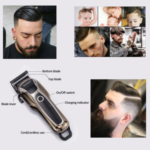 Image 5 - Kemei Trimmer Professional Hair ClipperตัดTrimmerผมตัดผมไฟฟ้าผมช่างทำผมเครื่องมือ5