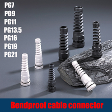 Connector Screw Seal-Sleeve Stress-Protector IP68 Waterproof Plastic Pg9/pg11-Cable 5PCS