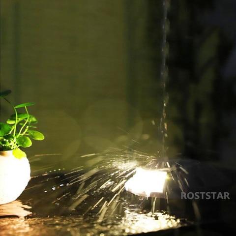 prova dwaterproof agua enterrado lampada passo luzes