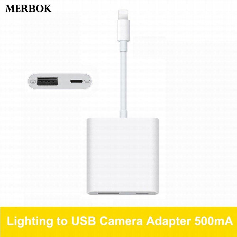 500ma Lightning To Usb Digital Camera