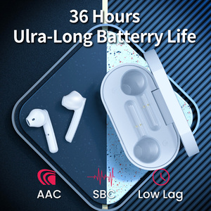 Image 4 - Picun W18 Wireless Earphones TWS Sports Bluetooth 5.0 Headphones In Ear Earbuds Handsfree Mini Dual mic Noise Canceling Headset