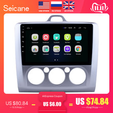 Seicane 9 Inch Android 8.1 Car Radio untuk Ford Fokus EXI Mt 2 3 Mk2 2004 2005 2006 2007 2008 2009-2011 2Din GPS Multimedia Player(China)
