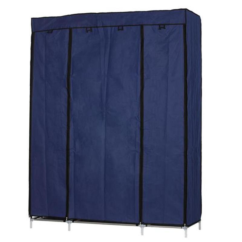 5 couches 12 compartiments armoire Non-tissé Portable maison organisateur garde-robe placard vêtements organisateur